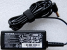 Genuine Toshiba PA2450U Satellite Portege 15V 3A Original AC Adapter Charger Power Supply Cord wire