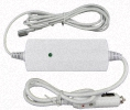 Apple MacBook PRO MC024LL/A 17 inch Car-Charger Adapter Power Supply Cord wire