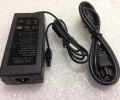 Ncom PWR-2504-AC AIR-CT2504-5-K9 AD10048P3 341-0183-01 48V AC Adapter Charger Power Supply Cord wire