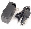 Nikon CoolPix DSLR ENEL9A AC DC camera Battery car Charger